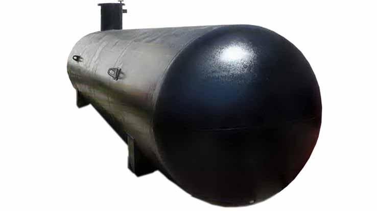 Резервуар СУГ подземный одностенный