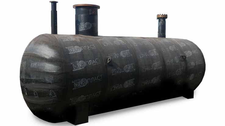 Резервуар СУГ подземный двустенный