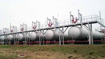 Резервуары СУГ наземные одностенные объемом 50