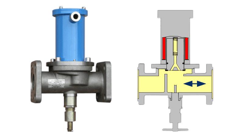 Клапан электромагнитный КРТ 4228