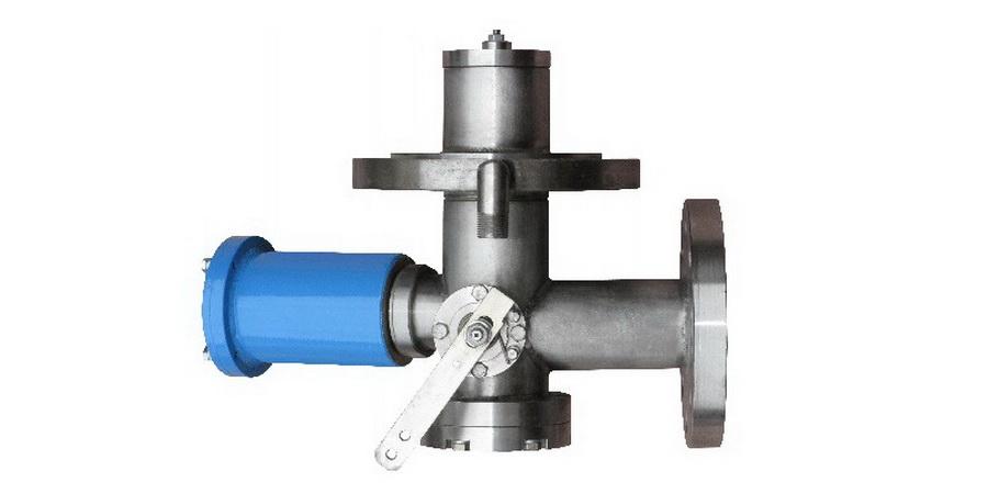 Донный клапан для газовоза
