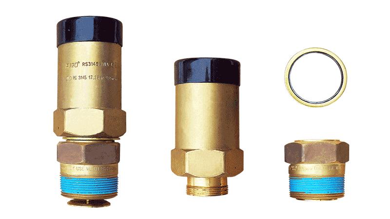Клапан предохранительный REGO RS 3145 в комплекте