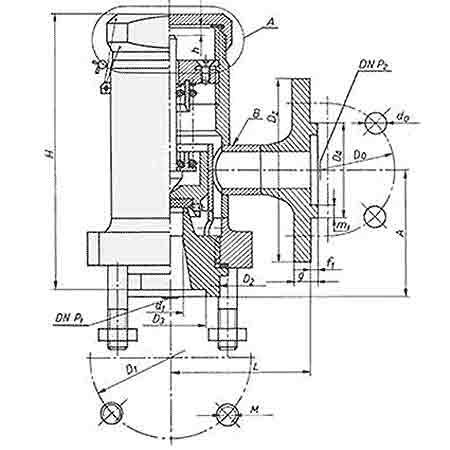 Конструкция клапана Pilzno ZBKk
