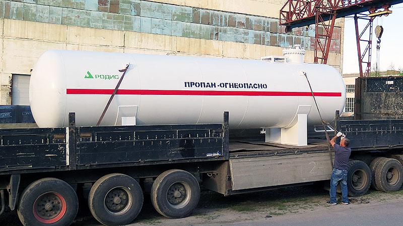 Емкость для газа