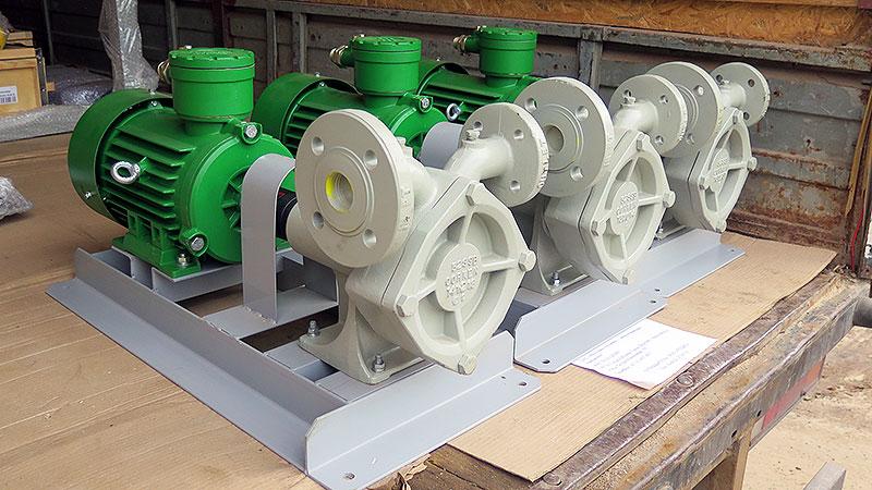 Насосные агрегаты Corken FD-150
