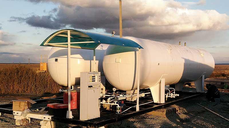 АГЗС объемом 40 метров кубических