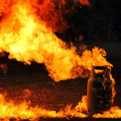 Причины взрыва газовых баллонов