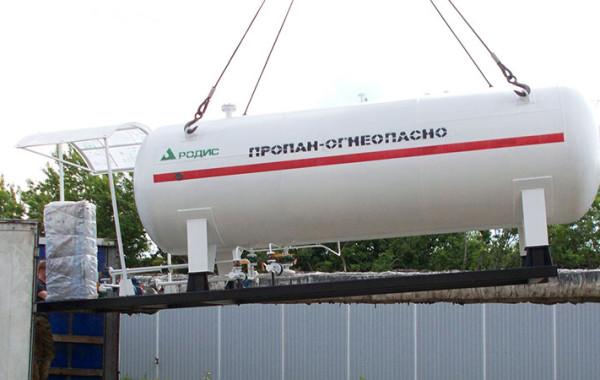 Отгрузка модульной АГЗС в Якутию