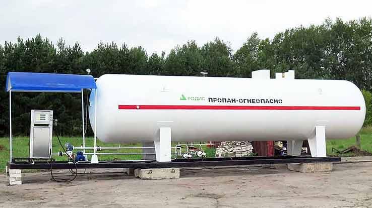 Модульная АГЗС МВ-20