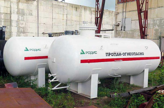 Поставка резервуаров СУГ в Казахстан