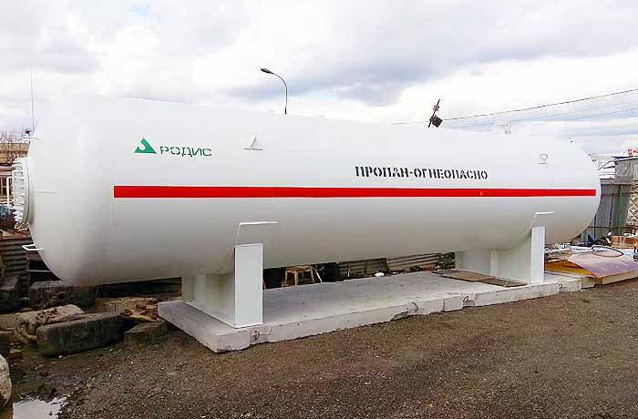 Поставка резервуара СУГ в Москву
