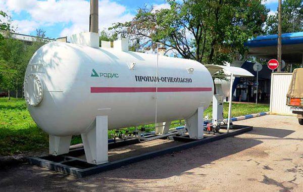 Поставка модуля АГЗС в Санкт-Петербург