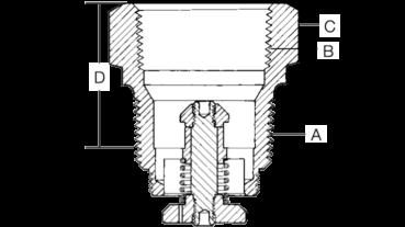 Конструкция скоростного клапана Rego