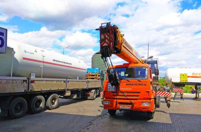 Модульная АГЗС на 49 км Киевского шоссе