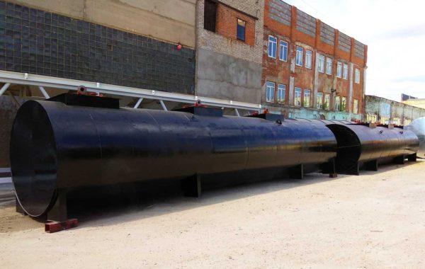 Поставка резервуаров для нефтепродуктов