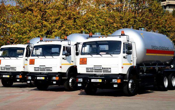 Автоцистерны СУГ АЦТ-20 для Киргизии