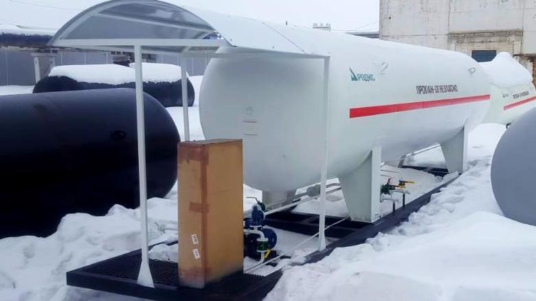 Поставка модульной АГЗС в Арск
