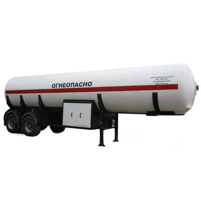 Газовоз ППЦТ-20 полуприцеп-цистерна
