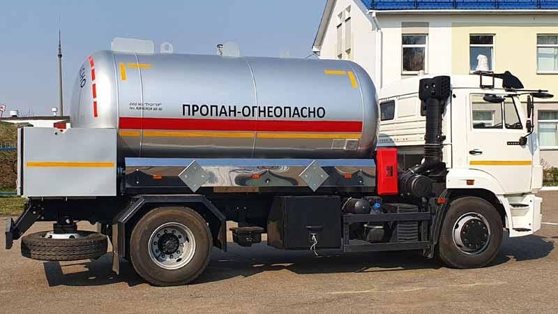 Автоцистерна СУГ АЦТ 10 Витебск
