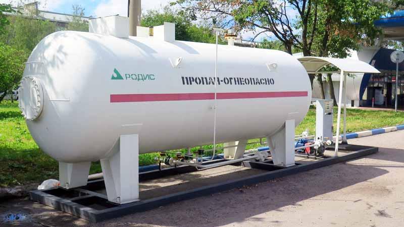 Модульная АГЗС МВ-13 АЭРО СПб