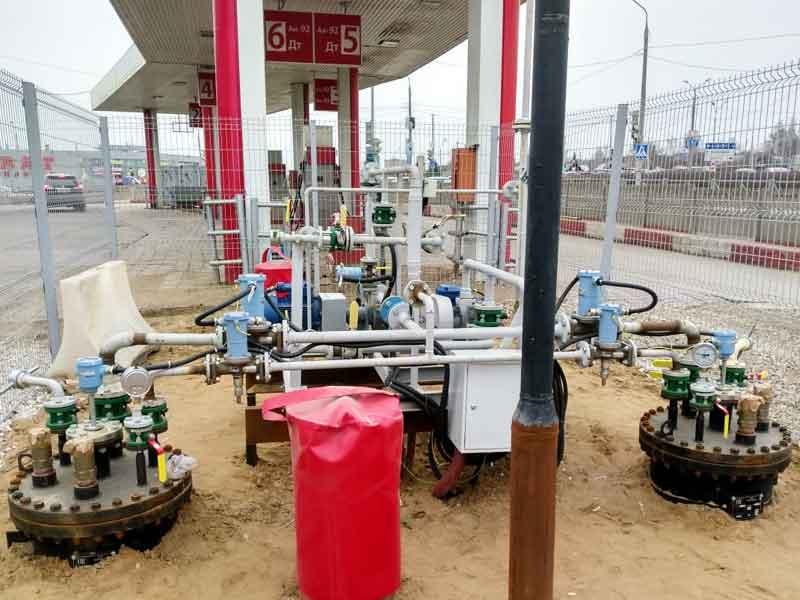 Купить газовую заправку с подземными резервуарами